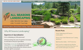Sun Valley: All Seasons Landscaping