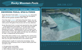 Rocky Mountain Pools