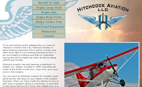 Hitchcock Aviation: Aircraft Skis, Cargo Pods, Nose Forks