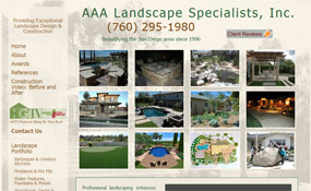 AAA Landscape Specialists – San Diego Landscape Design/Construction