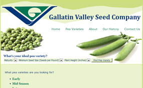 Gallatin Valley Seed - Peas