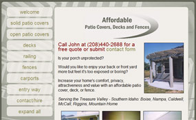 Boise ID Patio Covers: Affordable Patio, Deck and Fence