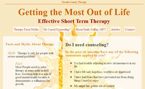 Nevada County Therapy – Emily Gallup, Marriage & Family Therapist
