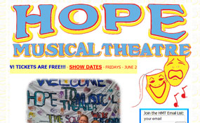 Hope Musical Theatre - SF Peninsula Children's Theatre