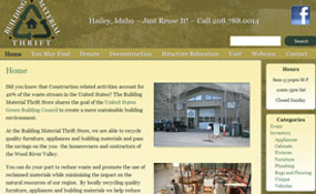 Building Material Thrift Store – Hailey, ID