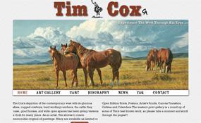 Tim Cox - Cowboy Artist