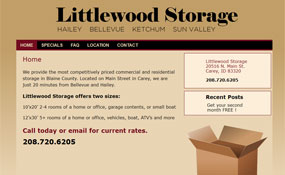 Littlewood Storage : Hailey, Ketchum, Sun Valley