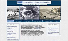 SHRA Stevens Historical Research Associates - Historical Consulting Firm