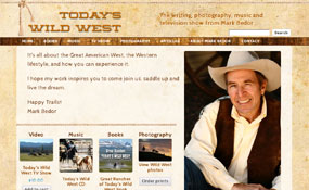 Today's Wild West Web Design