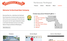 Overhead Door, Inc Web Design